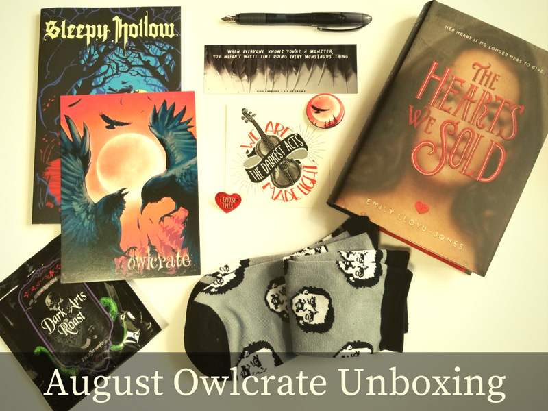 August Owlcrate Unboxing 2017